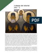 Principalele Etape Ale Istoriei Monahismului 1