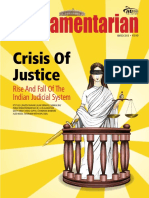 Parliamentarian | Crisis of Justice | Rise And Fall Of The Indian Judicial System