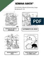Fichas 1º Grado Semana Santa 23-03-16