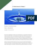 Air Bersih Atau Air Minum