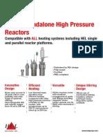 HP Reactors Flyer