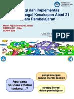 3. Literasi Dalam Pembelajaran