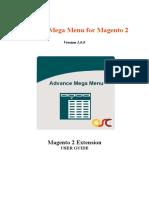 Advance Mega Menu M2 Extension UserGuide