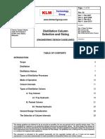 Engineering Design Guidelines - Distillation Column - Rev 04 Web