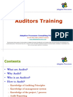 AMS Auditors Training v 1.0