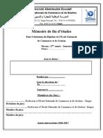 Page de Garde Mémoire de FE- DeNCG S10 -2016-2017