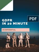GDPR in 20 Minute