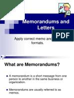 Memo Letter