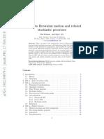 Pitman Yor a Guide to Brownian Motion