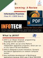 Chapter 3-JAVA GUI Programming-Reveiw Final