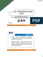 4 Jadual Spesifikasi Ujian (Jsu)