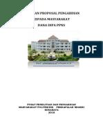 Panduan Pengabdian PPNS 2018 DIPA