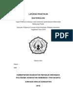Cover Bakteriologi