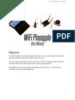 WiFi Pineapple Generation 6 User Manual Draft