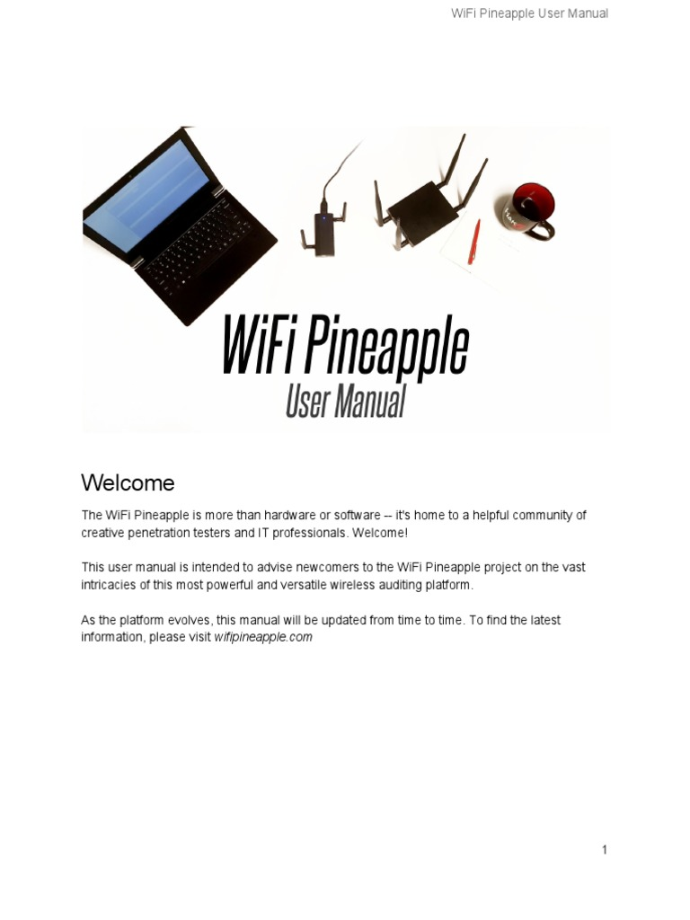 WiFi Pineapple Generation 6 User Manual Draft | Wi Fi | Usb
