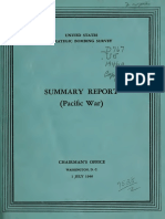 USSBS, Summary Report, Pacific War
