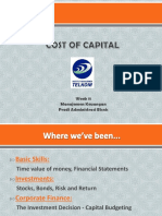11. Cost of Capital