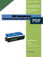 K5 GSM Communicator User Manual V1.2