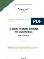 La Public Id Ad y El Derecho a La ion en El Comercion Electronico