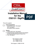 DigiPlus Installation Manual