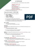 La Comparaison Exercice Grammatical Feuille Dexercices Fiche Peda 56861