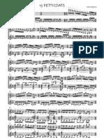 15 Petticoats by Janos Agocsi (guitar duet)