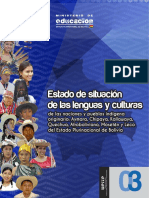 Estado de Las Lenguas Bolivia