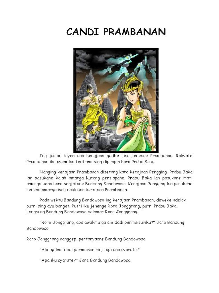 Legenda Candi Prambanan Singkat