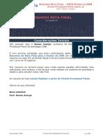 Aula Extra - Direito Processual Penal (Parte 02)