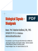 Biosignals Overview