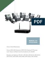 Manual Telefone CISCO SPA 502G