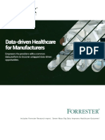 Data Driven Healthcare for Manufacturers