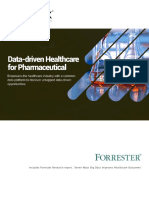 Data Driven Healthcare for the Pharmaceutical Industry