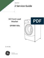 GFWN100L service manual