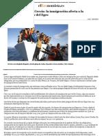 El Turismo 'Huye' de Grecia_ La Inmigración Afecta a La Economía en Las Islas Del Egeo - ElEconomista.es