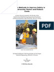 Ergonomic Methods to Improve Safety in the Construction Sector An
