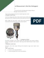 Instrumentasi Level Measurement