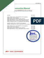 Edwards E2M28 to E2M30 Users Instruction Manual