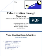 Value Creation Through Services