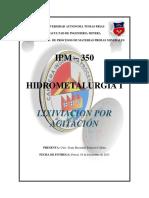HIDROMETALURGIA 1 laboratorio