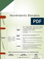 Movimiento Literarios