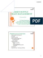 Handouts on 'Green SCM' - Dr. Rudra Rameshwar (2) - Copy