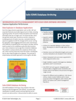 Solix EDMS Database Archiving