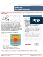 Solix EDMS Test Data Management