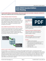 Solix Enterprise Data Management Suite Standard Edition Data Masking