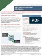 Solix Enterprise Standard Edition Data Masking