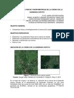 Informe Hidrologico _cuenca de La Quebrada Sopota_ (1)