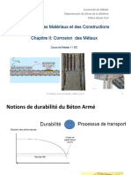 Corrosion Des Meteaux