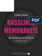 EBOOK - BASSLINES MEMORÁVEIS