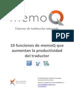 10 Funciones de Memoq Que Aumentan La Productividad Del Traductor